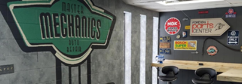 Master Mechanics Auto Repair Waiting Area
