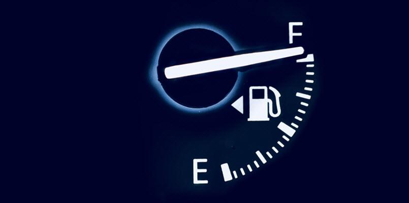Saab Fuel Gauge