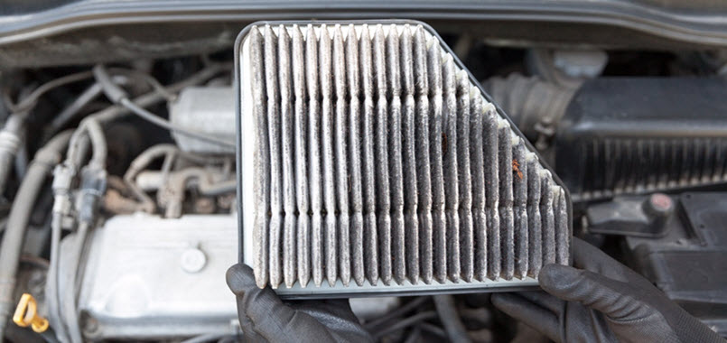 Volkswagen Dirty Air Filter Change